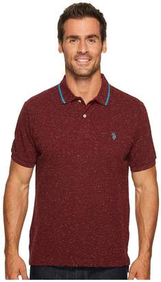 U.S. Polo Assn. Classic Fit Solid Short Sleeve Pique Polo Shirt Men's Short Sleeve Pullover