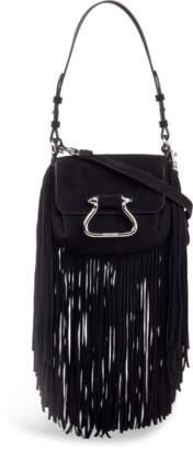 Roberto Cavalli Fringed Shoulder Bag