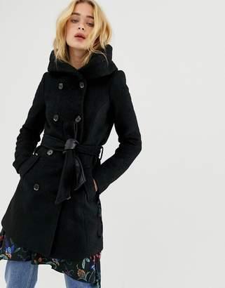 Vero Moda Hooded Wool Coat
