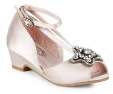 Arabella Little Girl's & Girl's Ankle-Strap Sandals