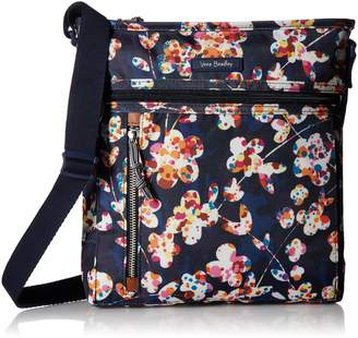 Vera Bradley Lighten Up Travel Ready Crossbody, Polyester
