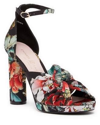 Chinese Laundry Flory Geisha Printed Platform Sandal