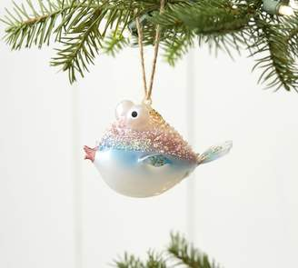 Pottery Barn Embellished Blowfish Ornament