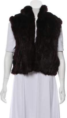 Adrienne Landau Fur Evening Vest