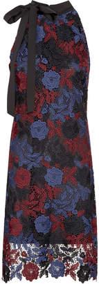 Sam Edelman Guipure Lace Halter Dress