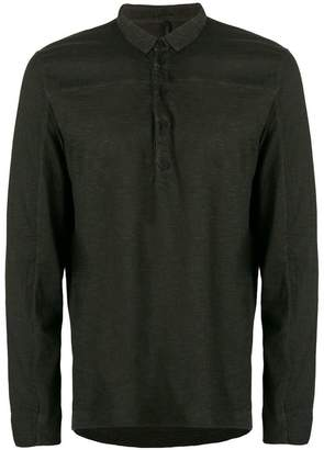 Transit long sleeve polo shirt