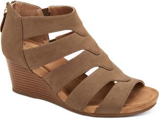 Giani Bernini Women Carmmell Memory-Foam Wedge Sandals, Women Shoes