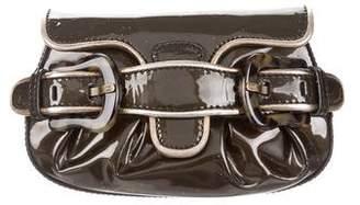 Fendi Patent Leather B. Clutch
