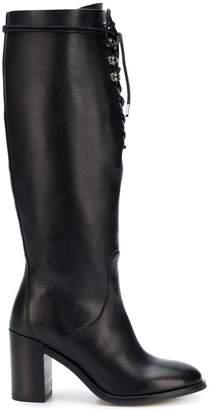 Diesel knee boots