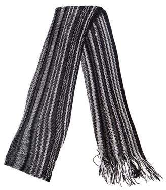 Missoni Striped Knit Scarf