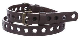 Rachel Comey Perforated Adjustable Belt