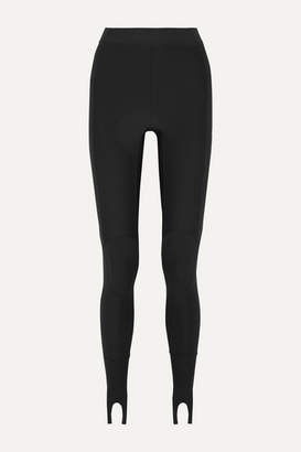 Ambush Printed Stretch-scuba Stirrup Leggings - Black