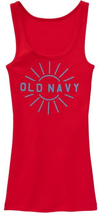 Old Navy Women's Graphic Perfect Tanks