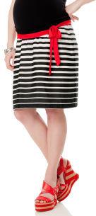 Motherhood Secret Fit Belly® Striped Maternity Skirt