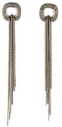 David Yurman Diamond Tassel Drop Earrings