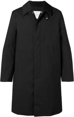 MACKINTOSH single-breasted padded raincoat