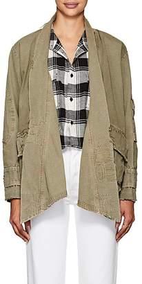 Greg Lauren Women's Cotton Ripstop Kimono Jacket