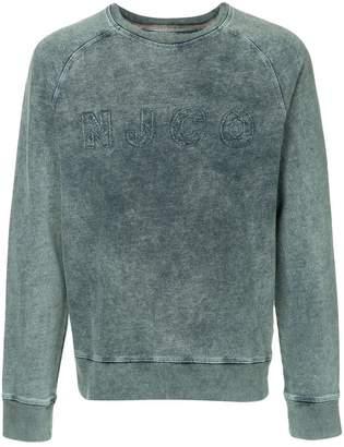 Nudie Jeans logo sweatshirt