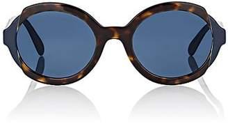 Prada Women's Round Sunglasses - Havana