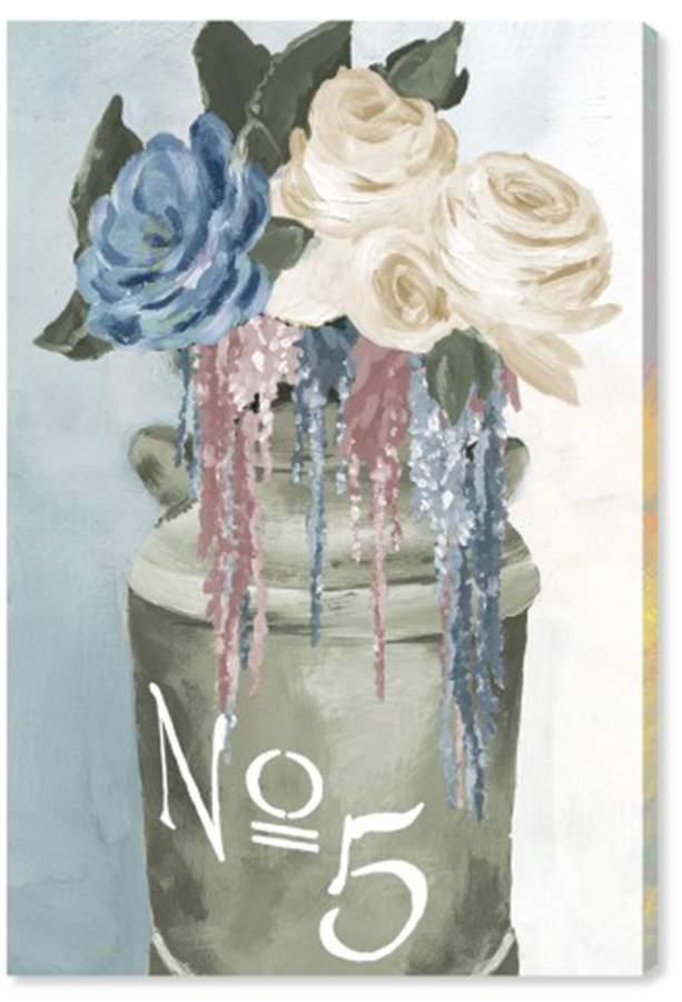Oliver Gal Gallery Big Flower Jar Canvas Art