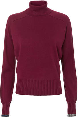 Proenza Schouler Burgundy Turtleneck Sweater