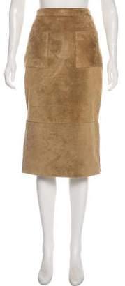 Cushnie et Ochs Suede Pencil Skirt w/ Tags