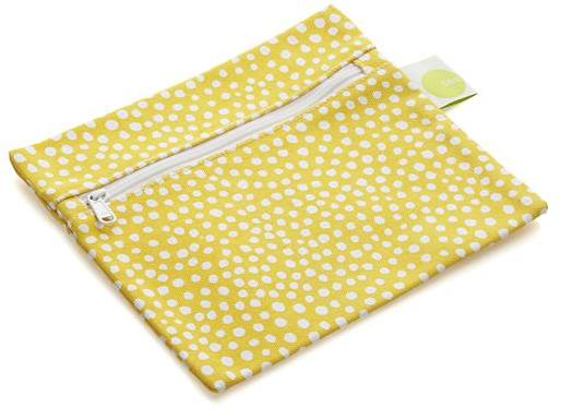 Crate & Barrel Yellow Pocket Bag
