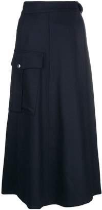 Barena midi full skirt