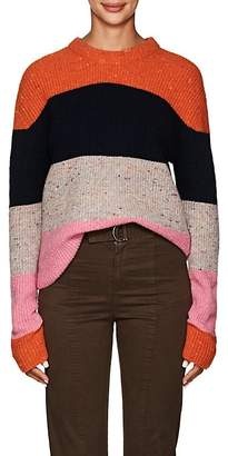 A.L.C. Women's Colorblocked Wool-Blend Crewneck Sweater