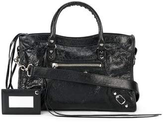 Balenciaga black Classic City M leather tote