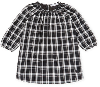 Burberry Checkered Woven Top