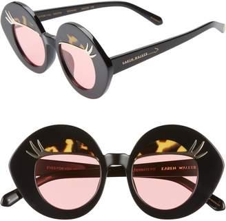 9b697a6411dd2 ... Karen Walker x Disney Minnie Mouse Eyes for You 44mm Round Sunglasses