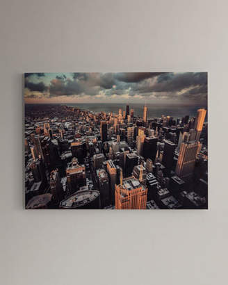 """Chicago"" Photography Print Handmade HD Metal & Acrylic Art"