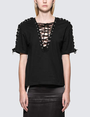 McQ Laced S/S Top