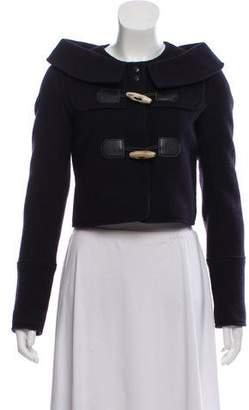 Proenza Schouler Cropped Long Sleeve Jacket