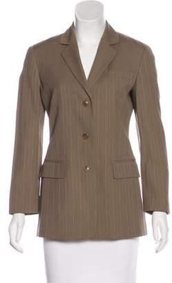 Calvin Klein Collection Pin-Striped Lightweight Blazer