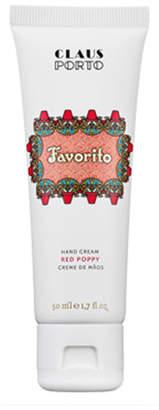 Claus Porto Favorito - Red Poppy Hand Cream, 50 mL
