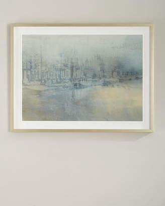 "Benson-Cobb Studios Amsterdam"" Handmade Framed Print Wall Art by Carol Benson-Cobb"