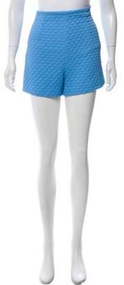 Cacharel High-Rise Mini Shorts