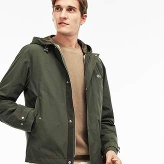 Lacoste Men's Quilted Hooded 3-in-1 Jacket