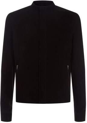 Lot 78 Suede Zipped Cuff Jacket