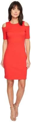 MICHAEL Michael Kors Mini Cube Cold Shoulder Dress Women's Dress