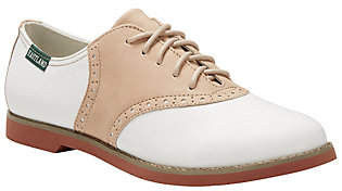 Eastland Two-Tone Leather Saddle Oxfords - Sadie