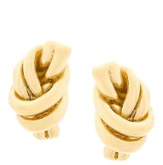 J.W.Anderson metallic knot earrings
