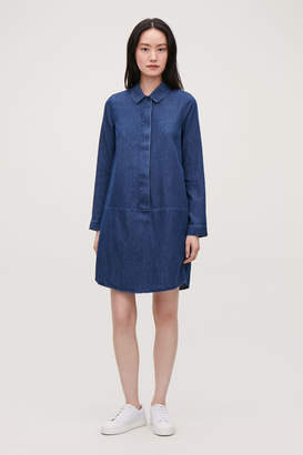 e066a9b727 Blue Denim Shirt Dress - ShopStyle UK