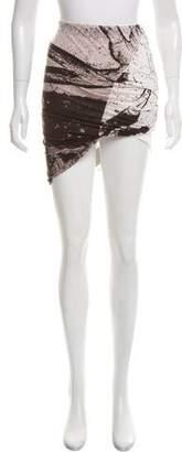 Kimberly Ovitz Knit Abstract Skirt