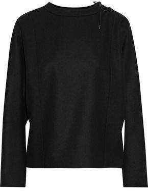 Tom Ford Lace-up Wool-fleece Top