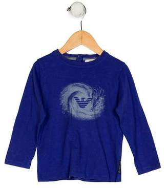 Giorgio Armani Baby Boys' Printed Shirt