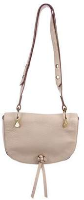 Elizabeth and James Grained Leather Saddle Bag