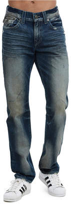 True Religion Men's Geno Flap Jeans
